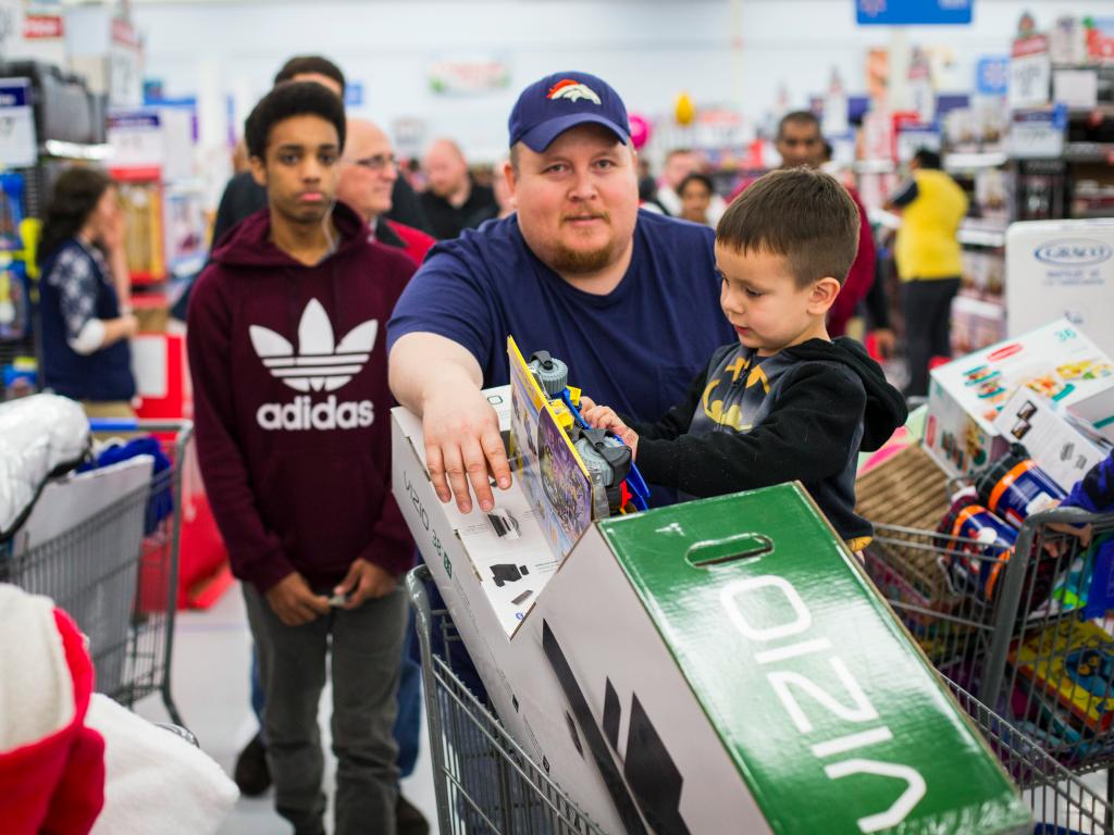 han snel fysieke shopper retail winkelen trend
