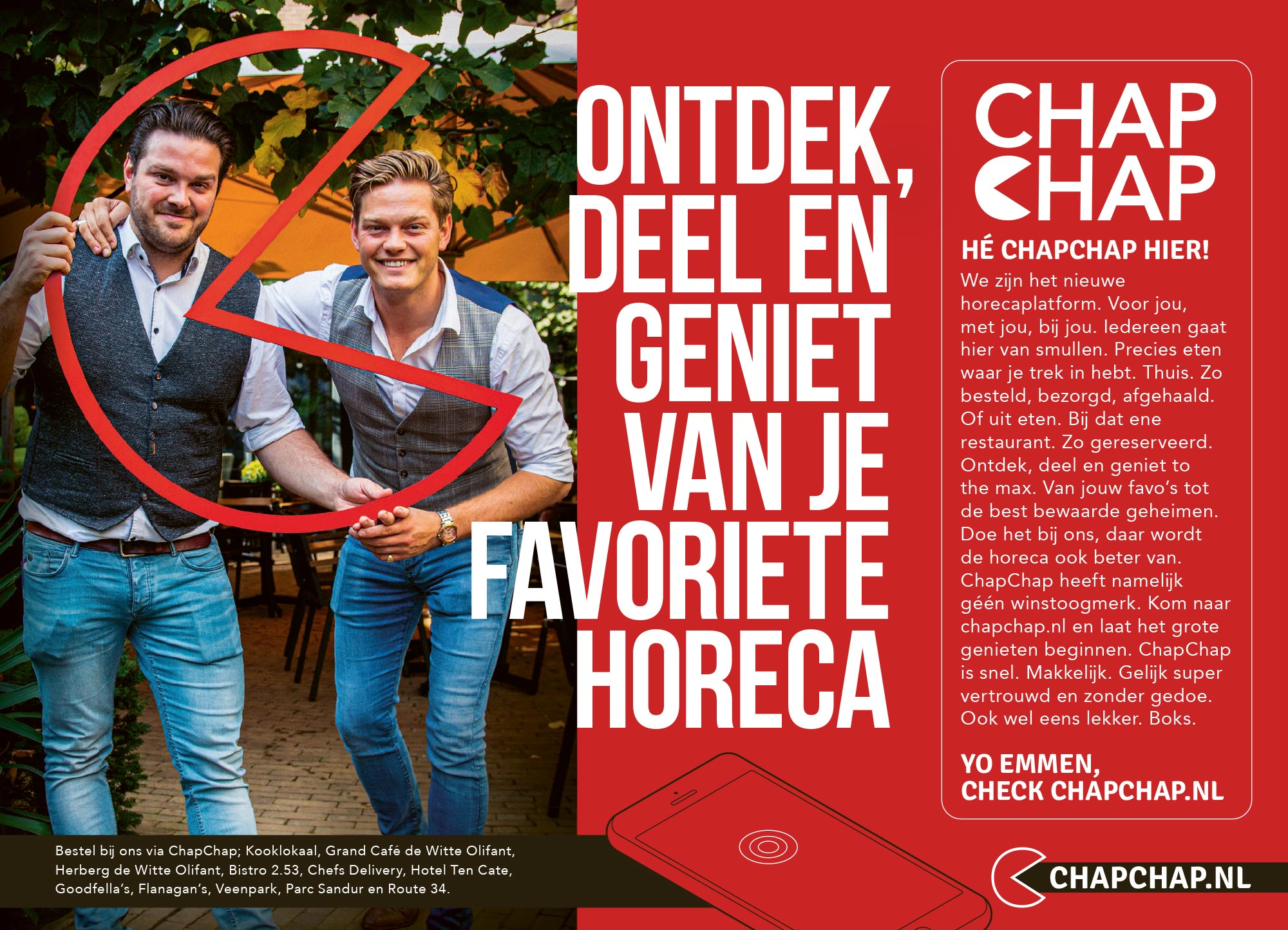 ChapChap advertentie
